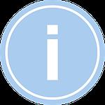info sign photo