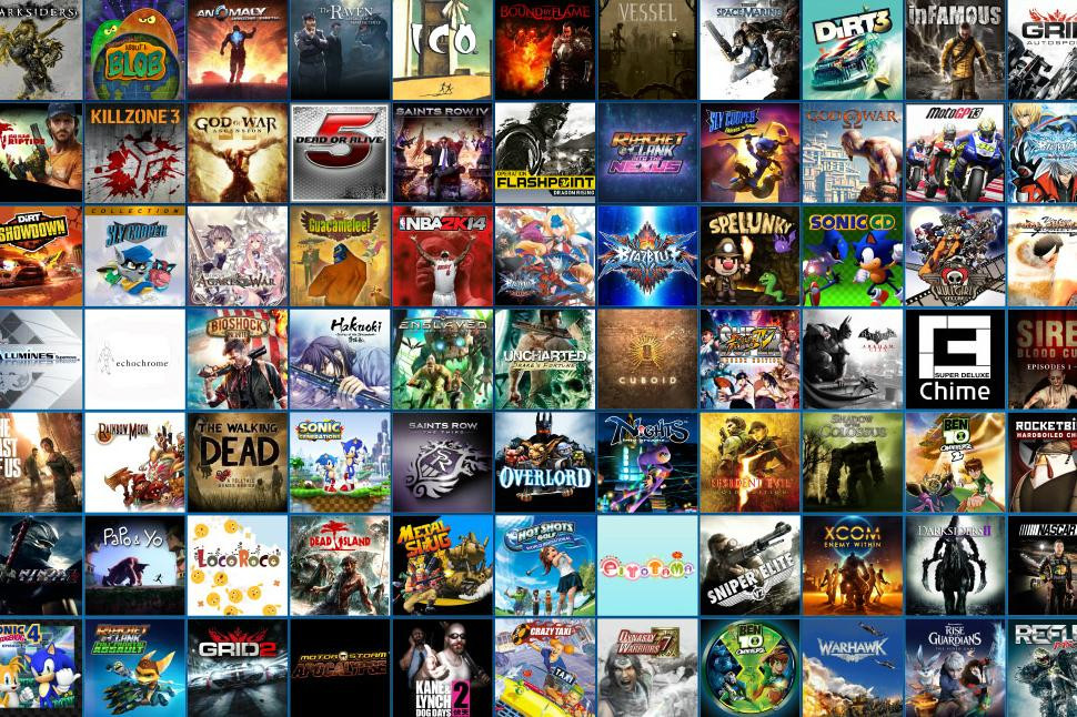 gry ps4 playstation 2016